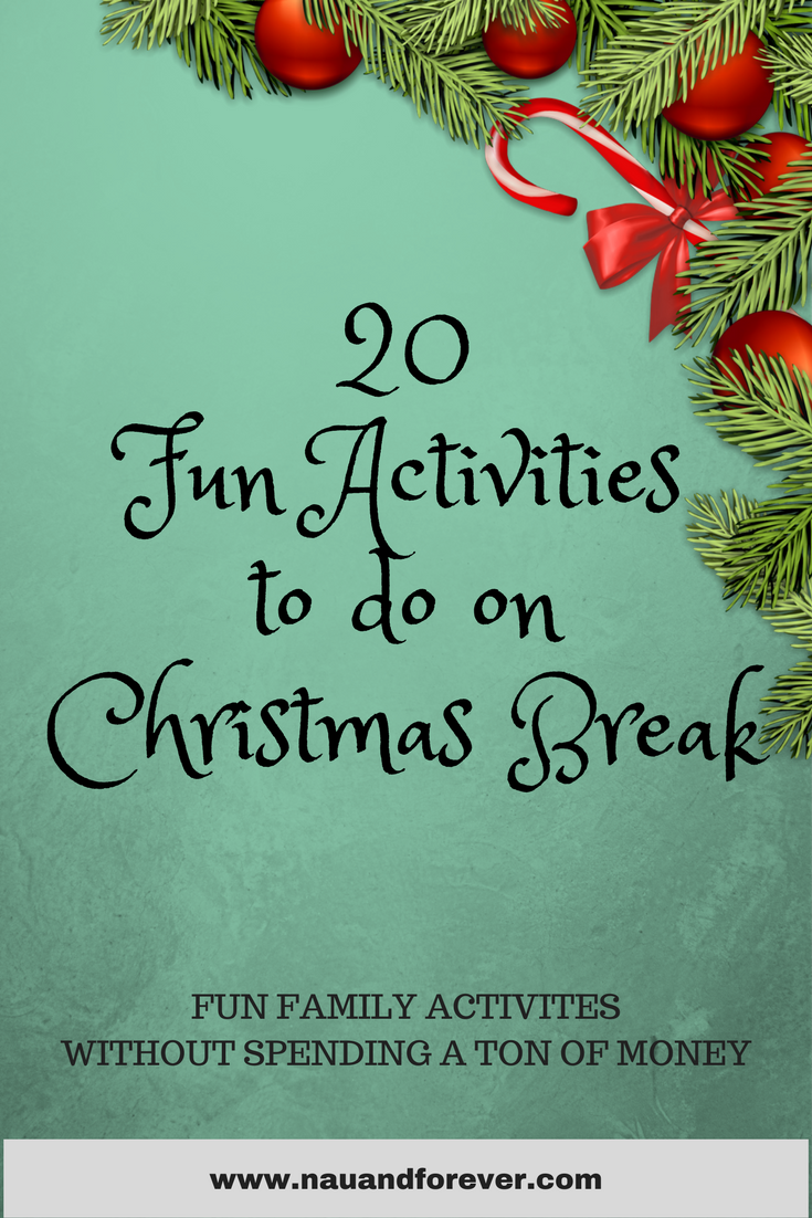 20 fun family activities to do on Christmas break