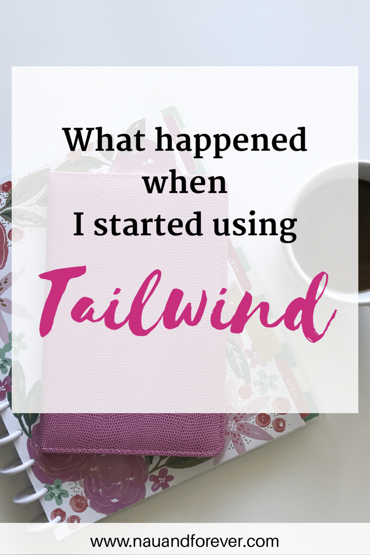 what happened when i began using tailwind