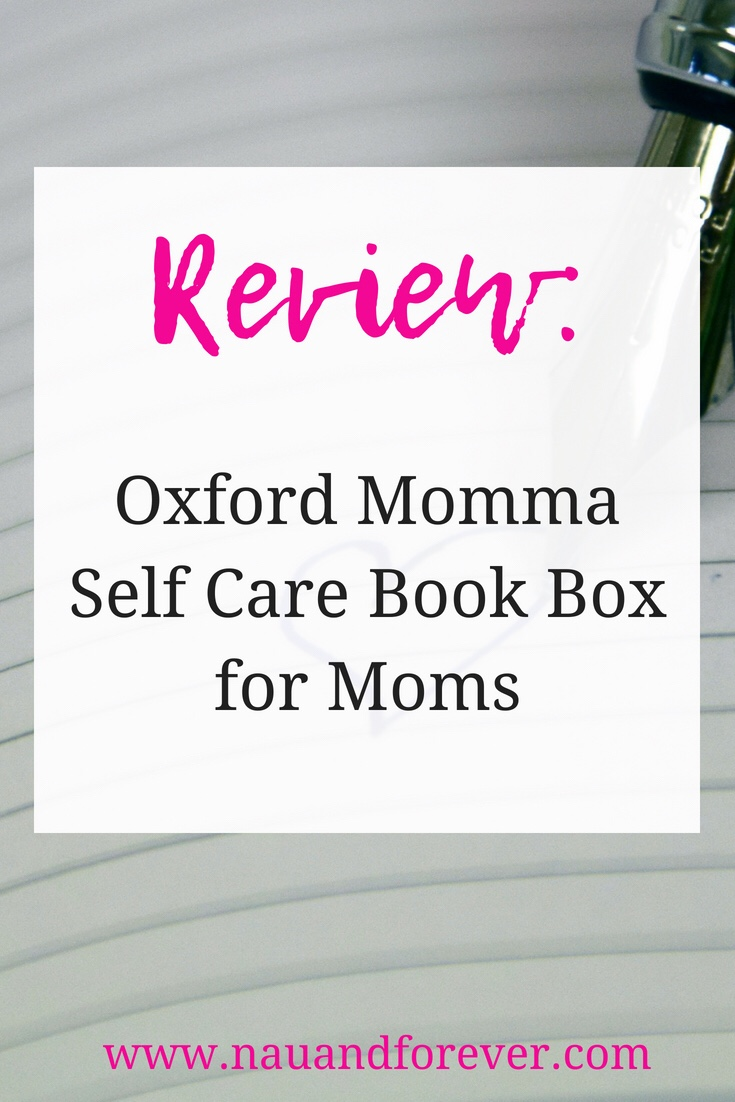 Oxford momma self care book box for moms