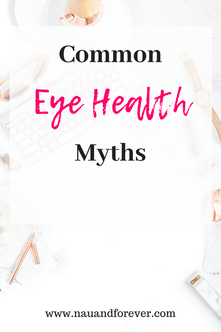Common eye health Myths