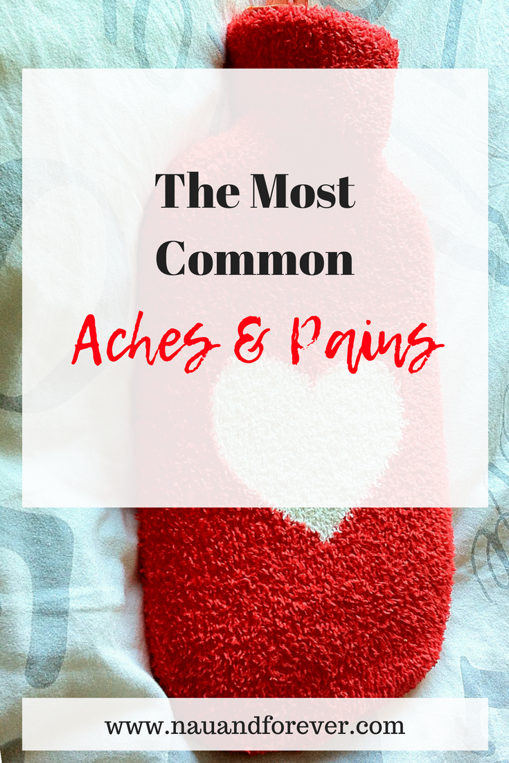the most common aches and pains