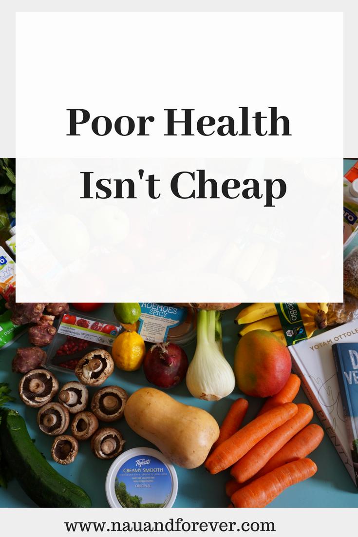 Poor Health Isn't Cheap