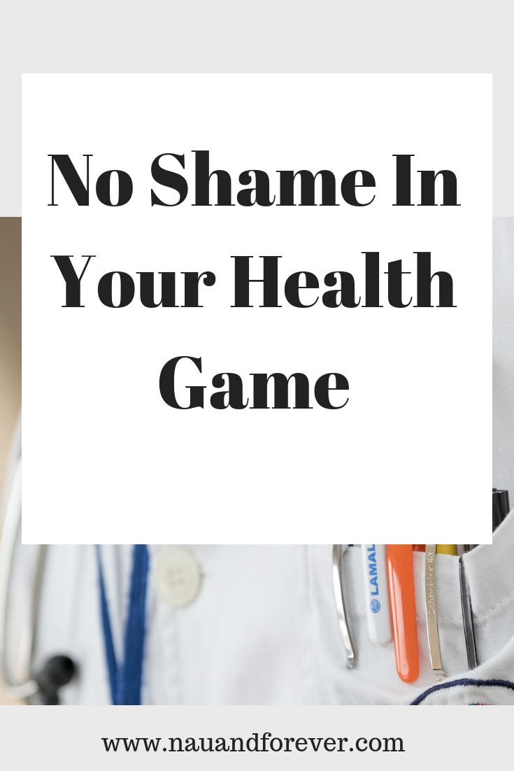 No Shame In Your Health Game