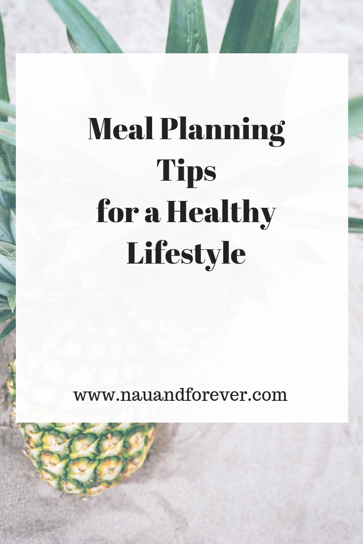 Meal Planning Tips for a Healthy Lifestyle