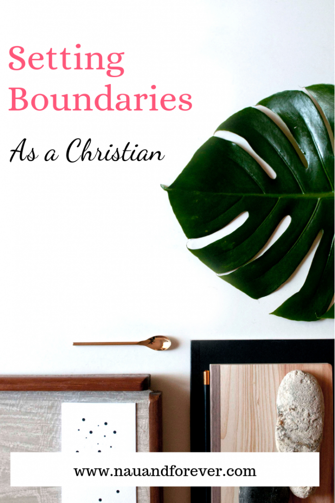 The Best Tip for Setting Boundaries As a Christian