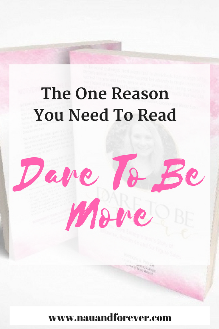 the one reason you need to read dare to be more