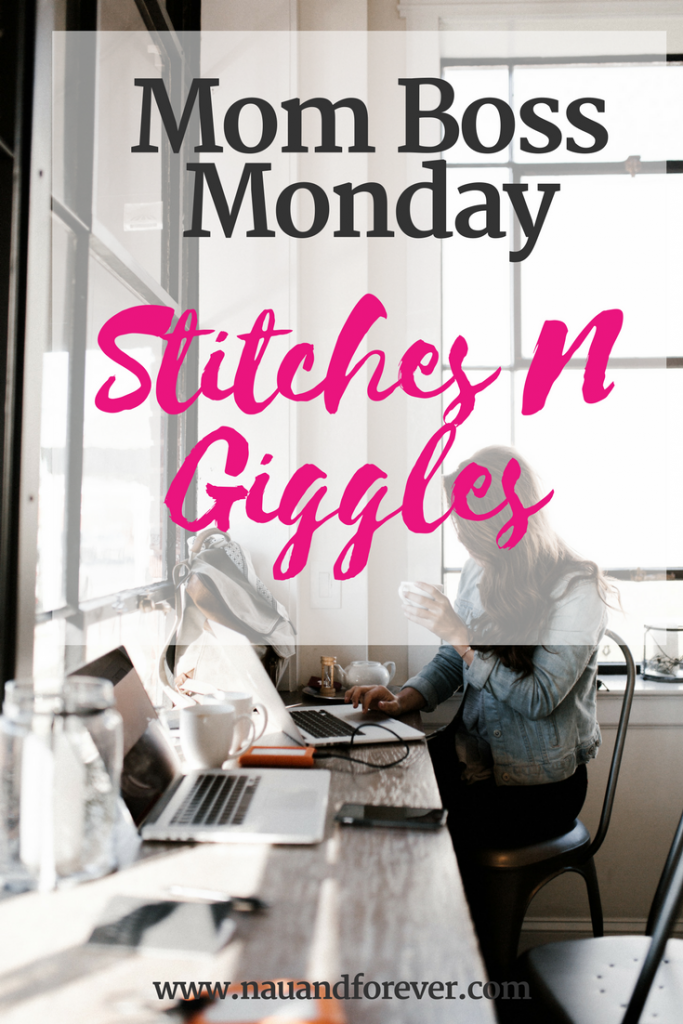 Mom Boss Monday Rachel Heavrin from Stitches n Giggles